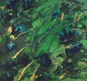 """""""Blue in The Jungle"""""""
