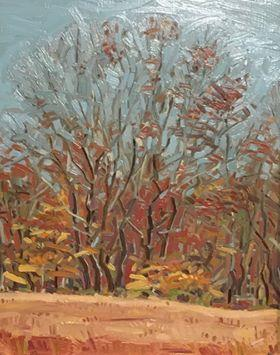 """Last Leaves In The At Cliffdale Farm"""