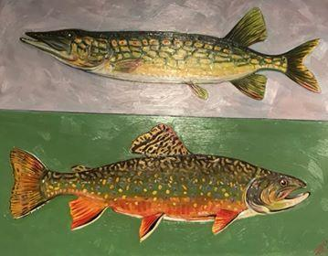 """Pickerel & Brook Trout"""